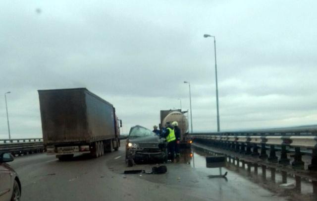 В ДТП на Красавинском мосту погибли два человека