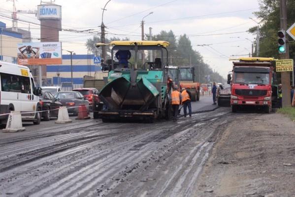 О перекрытии движения в центре города дорожники обещают предупредить заранее
