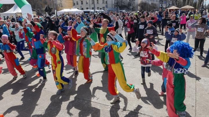 «Зеленый марафон» в Архангельске стал самым северным в стране