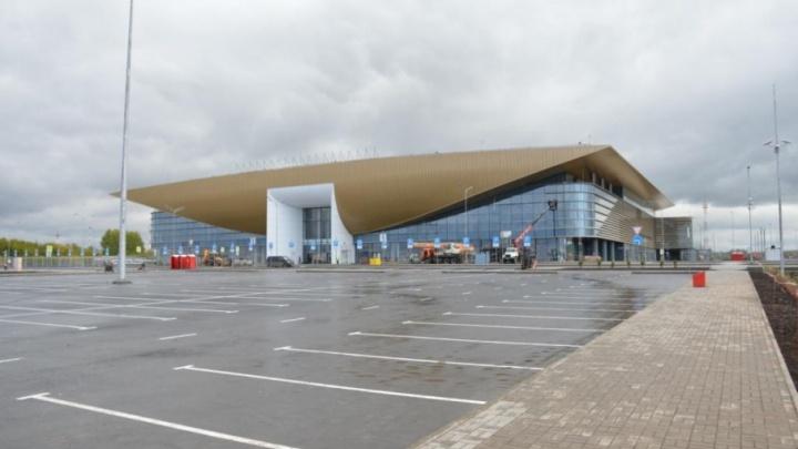 Установили систему для глухих: как выглядит новый терминал пермского аэропорта за два месяца до открытия