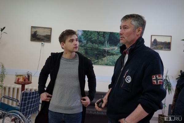 Ройзман позвал Соколовского приехать в хоспис в понедельник.