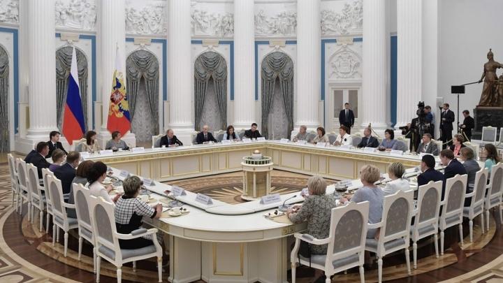 «Президент ни разу никого не перебил»: пермский учитель рассказал подробности встречи с Путиным