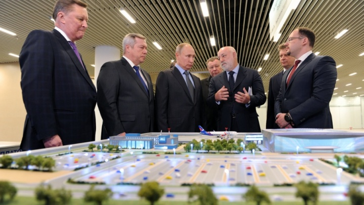 Президенту России показали аэропорт Платов и рассказали о новых проектах