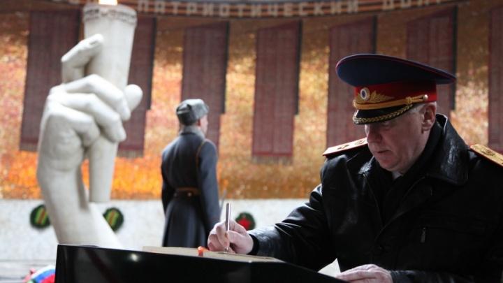 В Волгоград прибыл главный следователь страны Александр Бастрыкин