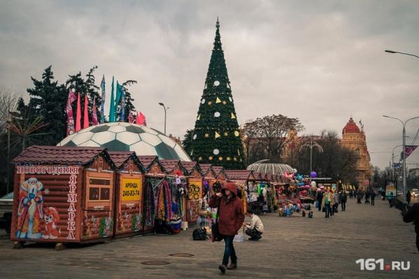 Главную городскую елку откроют 29 декабря в 16:00