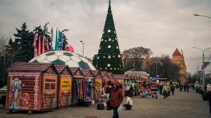 Фонтаны, пушки с конфетти и парад Снегурочек: в Ростове откроют главную городскую елку