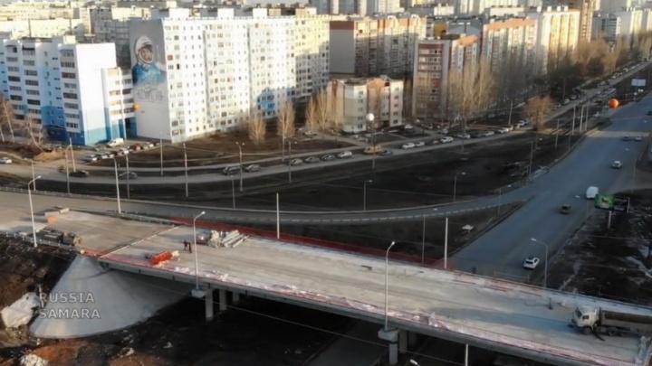 Двухуровневую развязку на Ташкентской — Демократической готовят к укладке асфальта