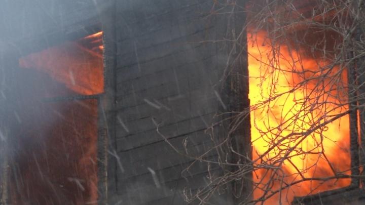 В Онеге за сутки произошло два «печных» пожара