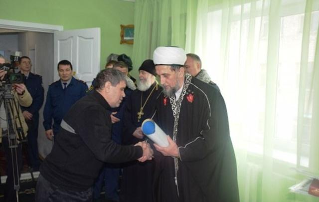 В Самарской области в исправительной колонии открыли молельную комнату для мусульман