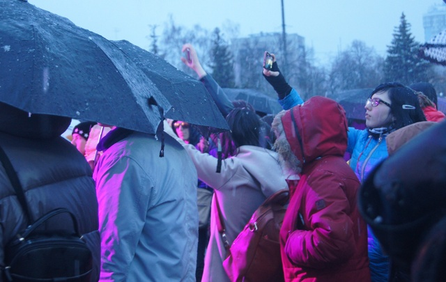 Самарцы отметили завершение субботника на концерте группы «Серебро» и других звезд на площади Куйбышева