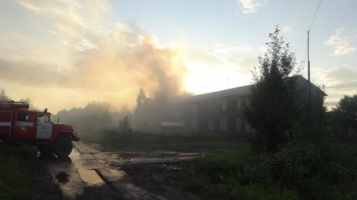 Пьяное веселье оставило без крова сразу несколько семей в Пинежском районе