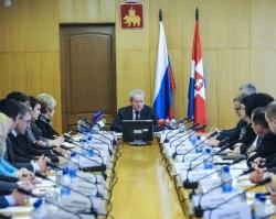 Виктор Басаргин встретился с Советом главврачей