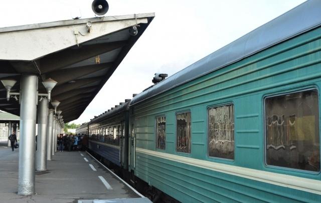 У путешествующих на поездах северян появилась возможность принять душ