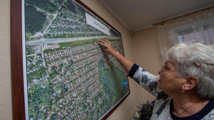 «Не вставайте в позу»: 74.ru увидел проект дороги, которую проложат через сады под Челябинском