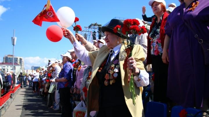 Без туфельки, но с гордо поднятой головой: как прошел парад Победы в Самаре