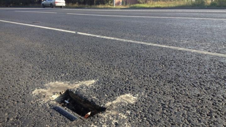 Дырокол для дорог: кто и зачем «портит» челябинский асфальт