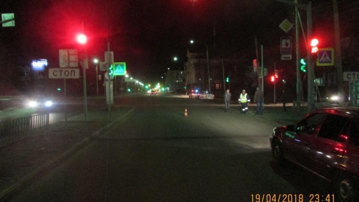 В Красноперекопском районе автомобиль «Рено» сбил женщину