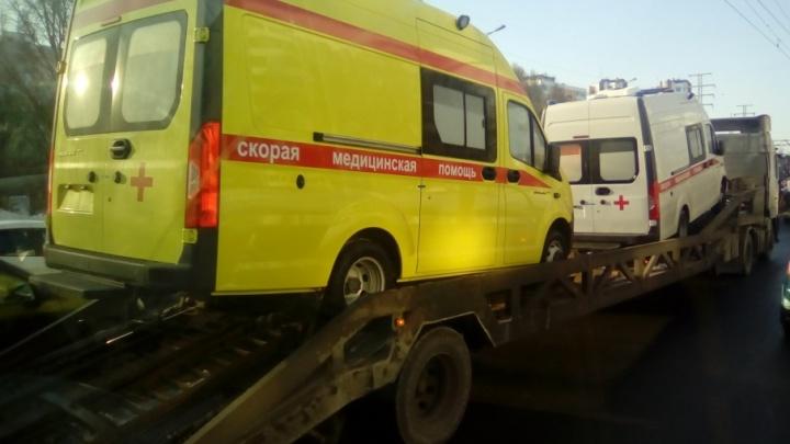 В Самару доставили новые машины скорой помощи