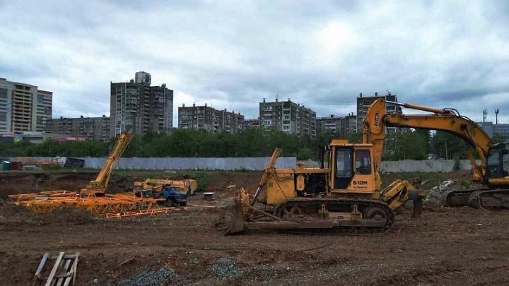 На северо-западе Челябинска построят торговый комплекс с жилыми высотками и гостиницей
