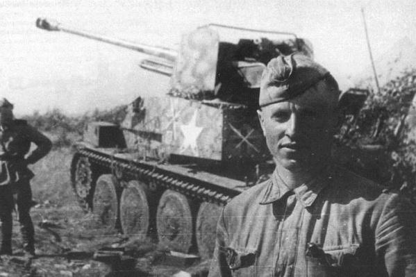 Выпускники РАУ командовали самоходками у деревни Новики Витебской области