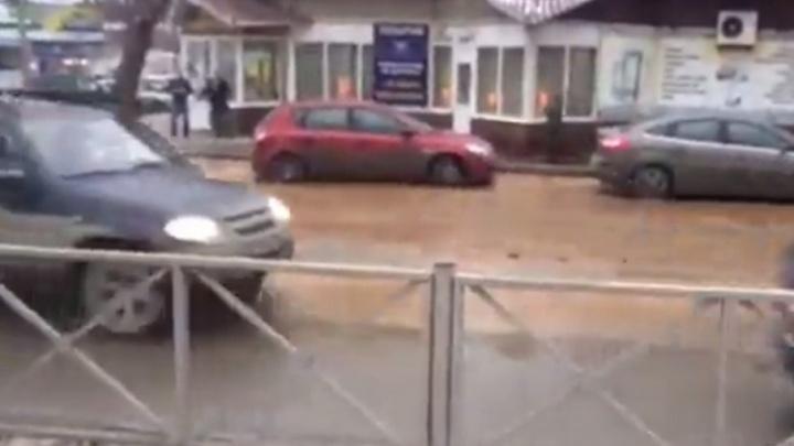 В Перми из-за коммунальной аварии несколько домов в центре города отключили от водоснабжения