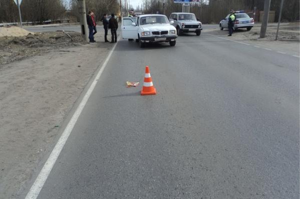 Водитель не смог избежать наезда на пешехода