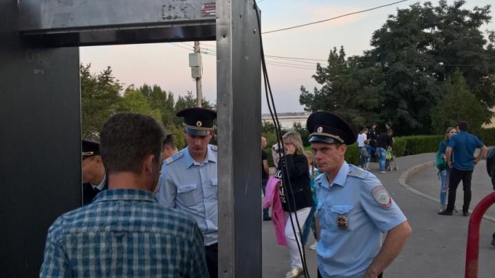 В Волгограде полиция запрещает велосипедистам проход на центральную набережную