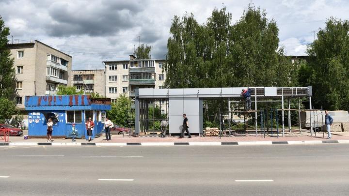 В Ярославле на новых остановках сделают торговые павильоны