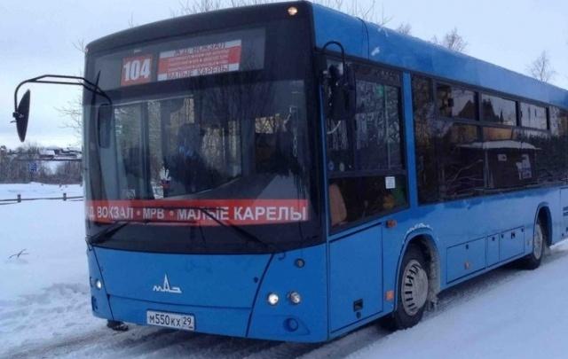 По маршруту Архангельск – Малые Корелы будет курсировать новый современный автобус