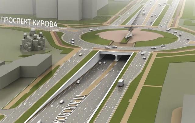 Движение по тоннелям на Московском шоссе запустят 1 сентября