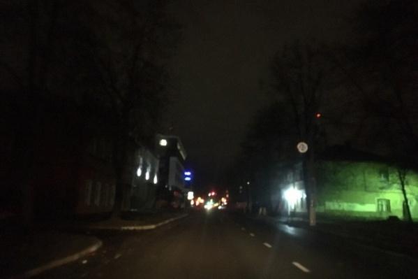 Центр Ярославля погрузился во тьму
