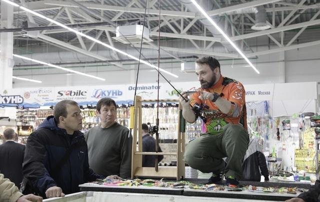 Гости выставки «Охотник и рыболов» узнают, как поймать рыбу мечты