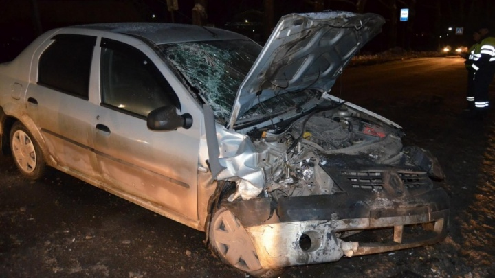 В Котласе водитель на «десятке» улетел в кювет и сбежал с места ДТП