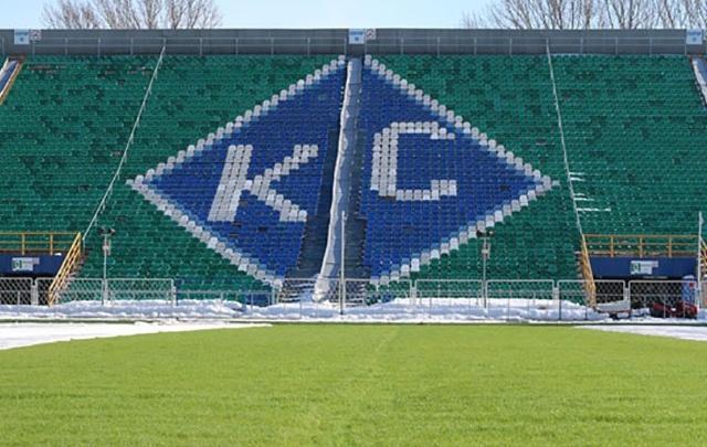 Комиссия РФПЛ проверит качество газона на стадионе «Металлург» в Самаре