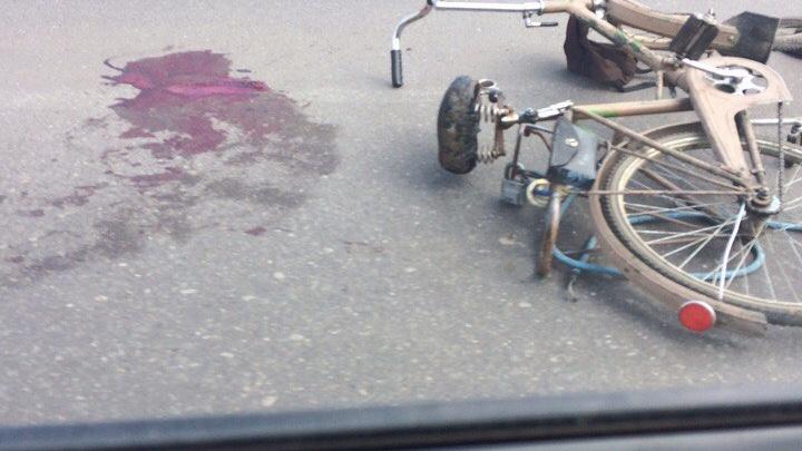 В Ярославской области иномарка сбила велосипедиста