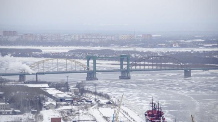 Реально 50 оттенков серого: как выглядит зимний Архангельск с высоты птичьего полета