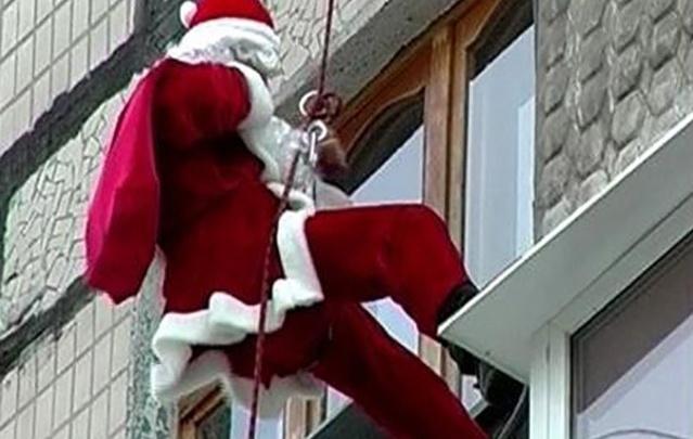 Как банда Дедов Морозов грабила в праздники