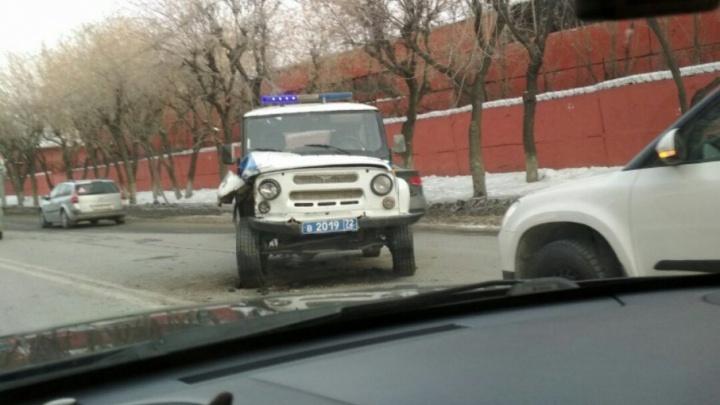 Тюменец удирал от ДПСников и врезался в машину ППС