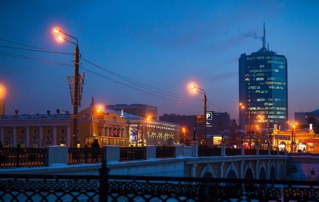 В субботу в Челябинске на час отключат праздничную иллюминацию