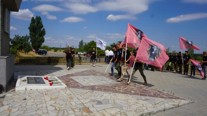 На Лысой горе в Волгограде стартовала Вахта памяти