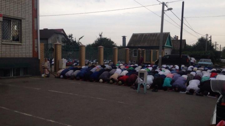 Мусульмане Волгоградской области отмечают Курбан-байрам