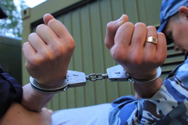 Нарушителя спокойствия в собственном доме задержали и отправили под стражу