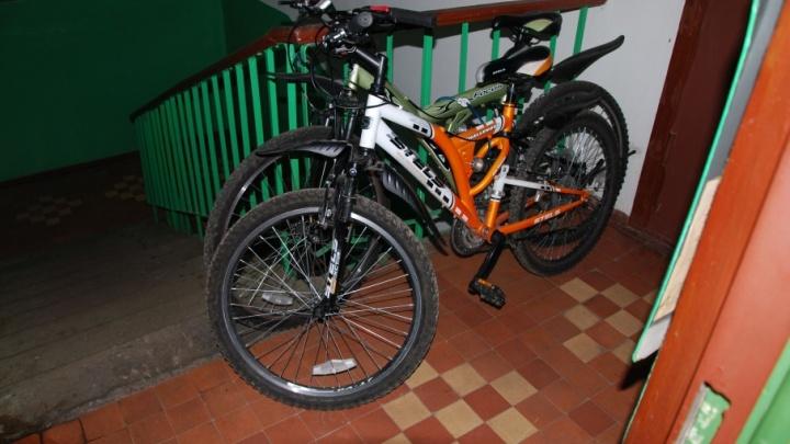 В столице Поморья стражами правопорядка раскрыта кража двух велосипедов