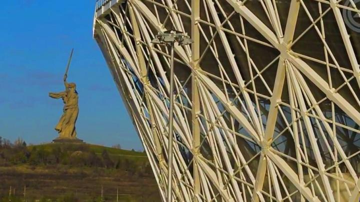В Волгограде сняли эпичное видео про построенный к ЧМ-2018 стадион