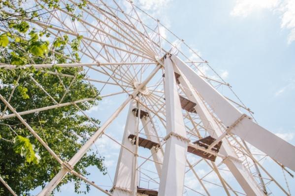 Высота нового колеса составит 55 метров