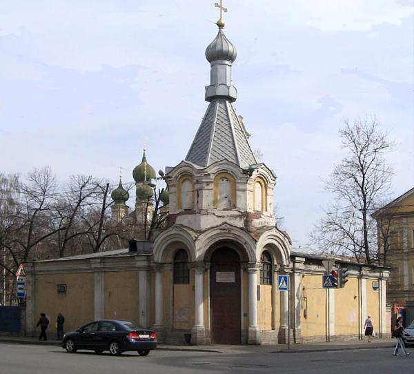 часовня церкви Благовещения пресвятой богородицы