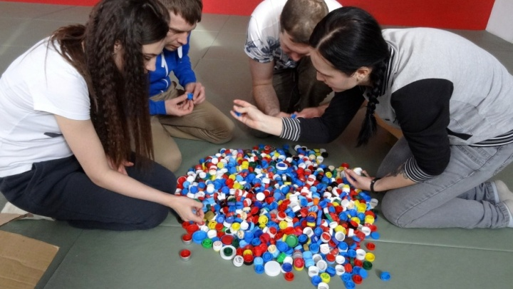 Тюменцам предлагают обменять пластиковые крышки на саженцы