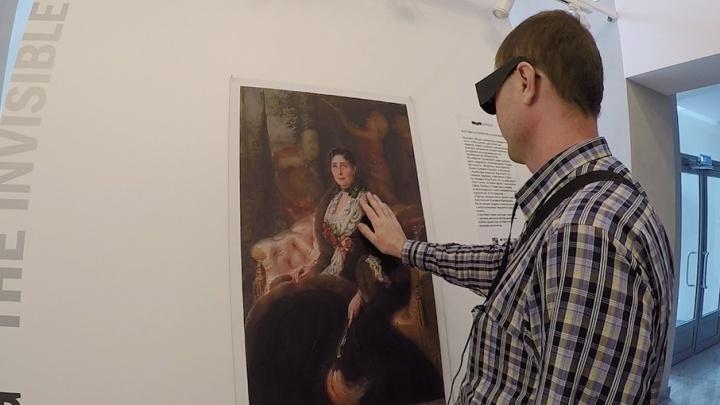В Волгограде можно потрогать шедевры живописи под аккомпанемент Татьяны Веденеевой