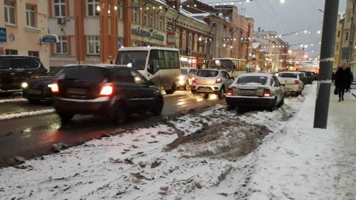 Энергетики отключили свет на центральной улице Ярославля