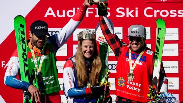 В Миассе короновали спортсменов, показавших лучшие результаты на Кубке мира по ски-кроссу
